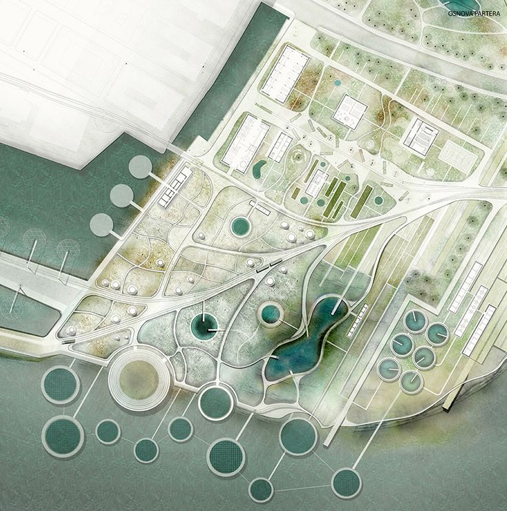 Katarina Petrovic (2014): Industry of nature. Delta masterplan, Rijeka (HR), via behance.net