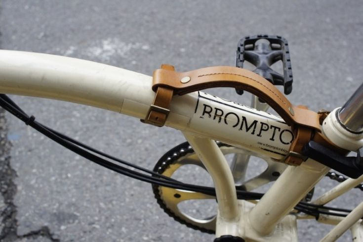 aesopica - carrying handle for brompton #bicycleaccessories