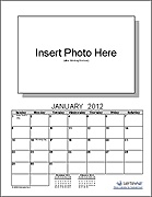 Create your own Photo Calendar using this free template.
