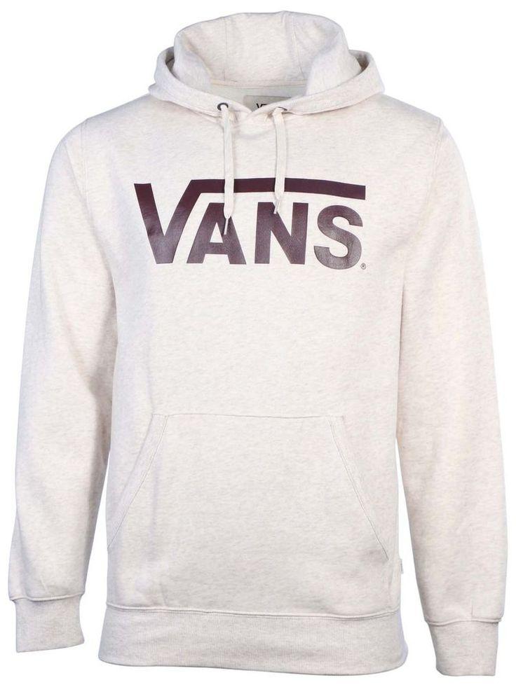 Vans Men's Classic Vans Skateboarding Pullover Hoodie #Vans #Hoodie
