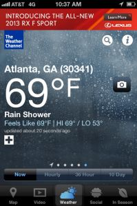 The Weather Channel Beautifies And Socializes Its iPhone App