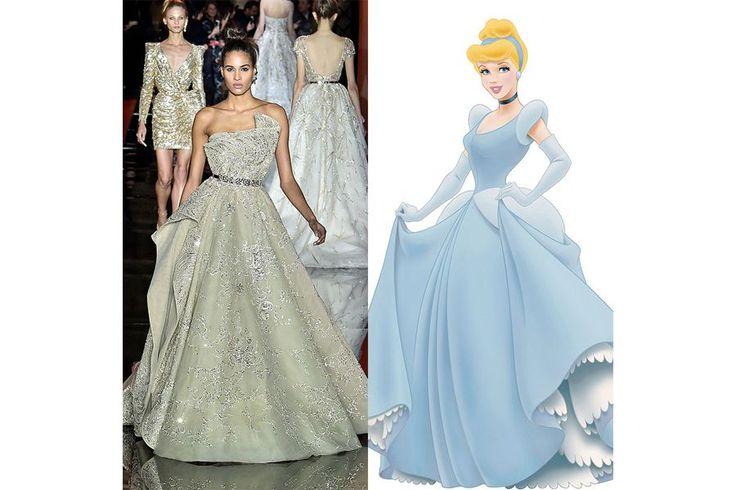 A semana de moda de Paris ficou marcada pela beleza e elegância das coleções de alta-costura, verdadeiras obras de arte que fazem qualquer um sonhar, até mesmo as princesas da Disney.