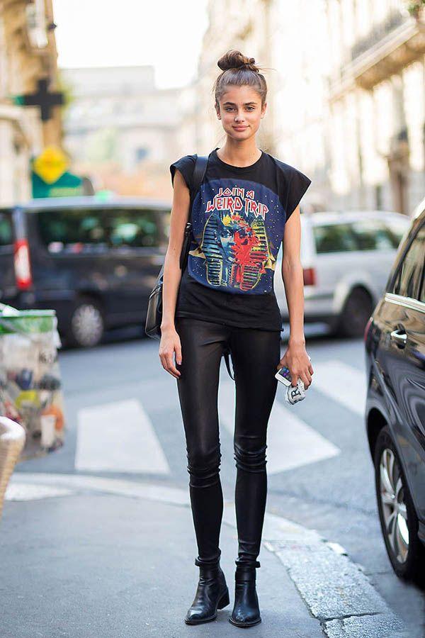 Taylor Hill Model Off Duty Street Style