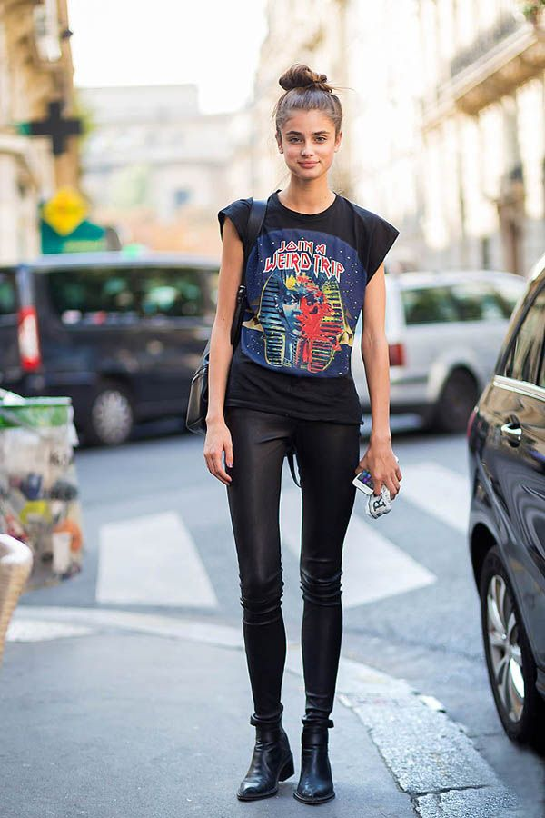Taylor Hill Model Off Duty Street Style
