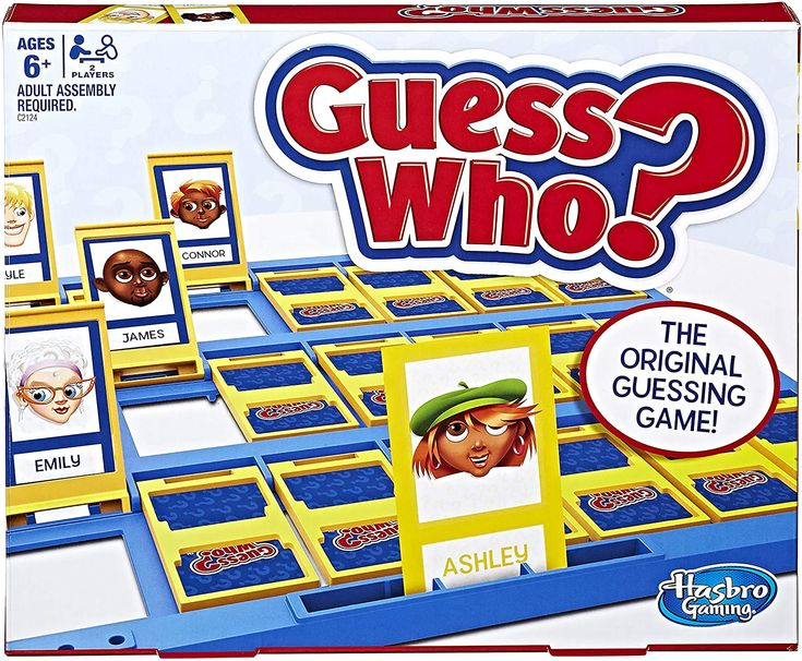 Guess Who Classic Game Classic games, Guessing games