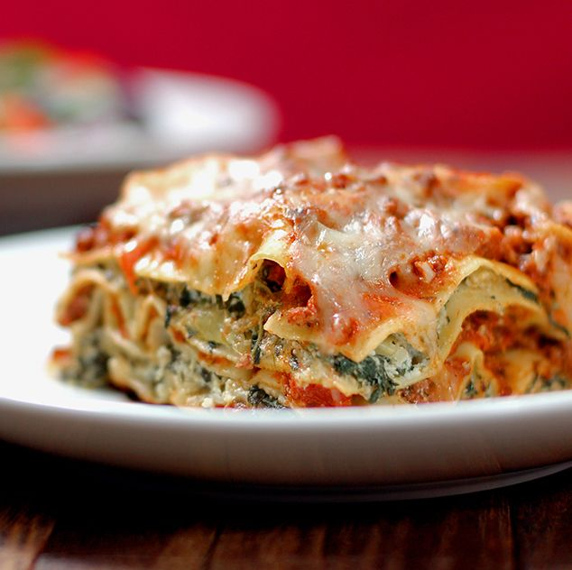 pesto and artichokes, this is a veggie-lover's lasagna.#smarterbeef ...