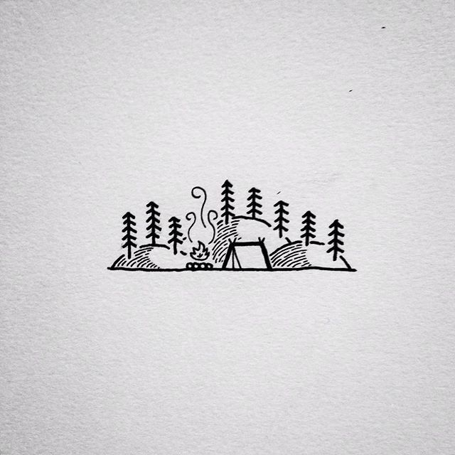 Looking through my sketchbooks from the past year, and found this little doodle. 2015 has been a great year, and I look forward to what 2016! Happy New Year!! #drawing #doodle #art #penandink #micron #design #graphicdesign #linework #homeiswhereyoupitchit #camping #campvibes #portland #oregon #pnw #upperleftusa #keepitsimple #illustration #illustree #backpacking #iblackwork #tattoo #tattoodesign