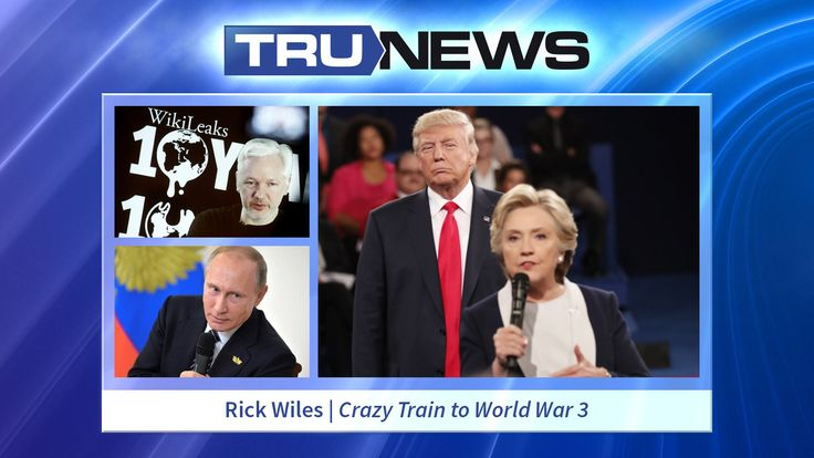 Is there anything WikiLeaks can release that would still shock the American public? Today on TRUNEWS, Rick Wiles details the most recent crazed action by Washington to instigate a Third World War, by empowering the CIA to hack the Kremlin. Rick also discusses the latest revelations from Podesta's emails, the conundrum of Julian Assange, and Putin's chess moves in Syria.