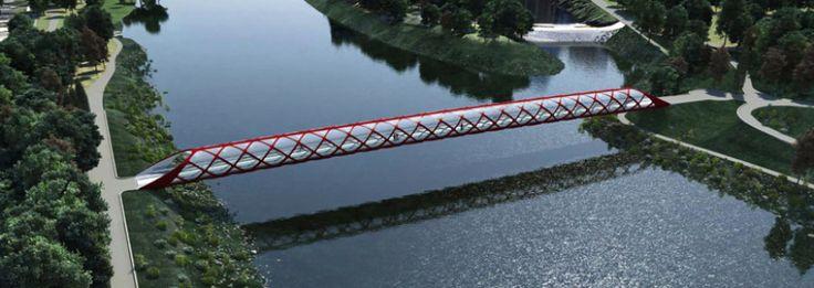 Me gusta mucho img 1 Arquitectos: Santiago Calatrava Ubicación: Calgary, Canadá Proyecto: Puente de la Paz de Calgary Año: 2012