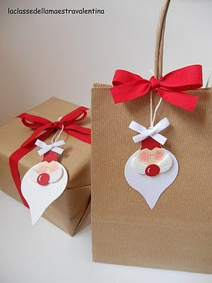 como fazer embrulho presente natal (2)