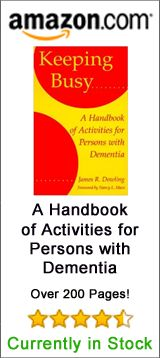 Alzheimer's and Dementia Activities for patients in nursing homes.