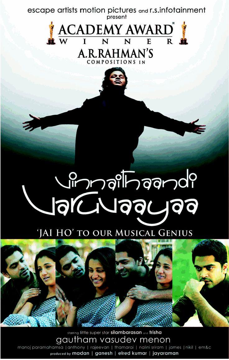Vinnaithaandi Varuvaaya..  An A.R.Rahman Musical  A GVM film!