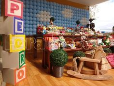 Amazing Toy Story Party.  See more party ideas at CatchMyParty.com.  #toystory #partyideas
