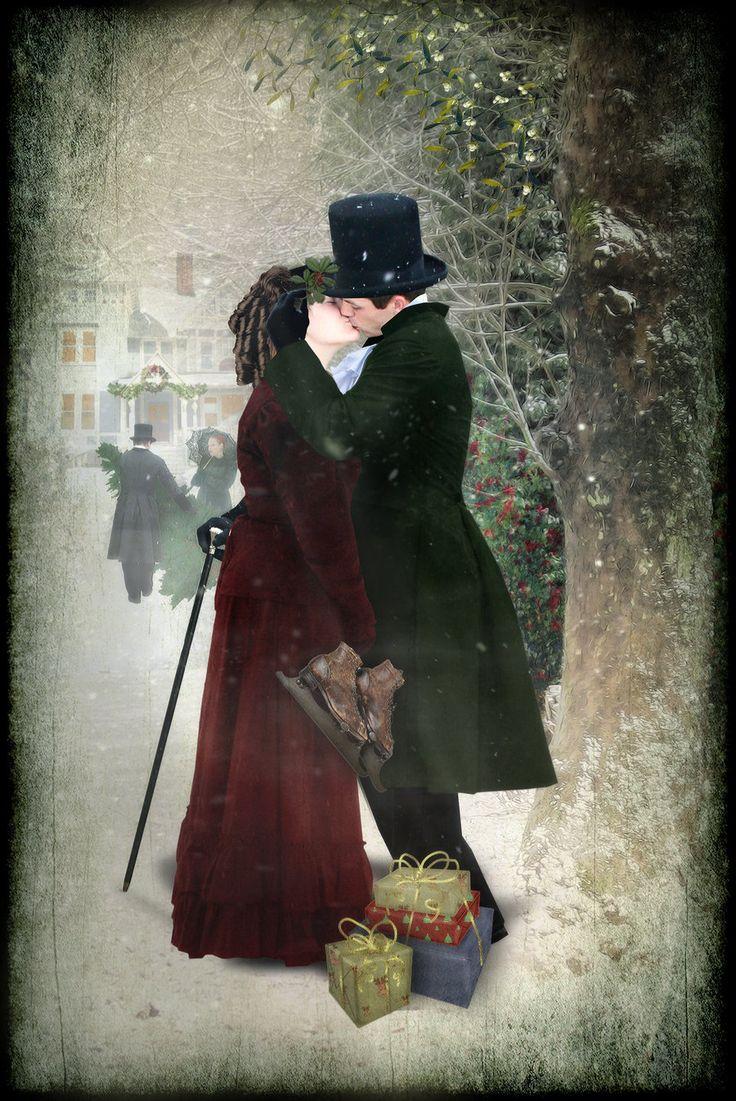 Under the Mistletoe II by Georgina-Gibson.deviantart.com