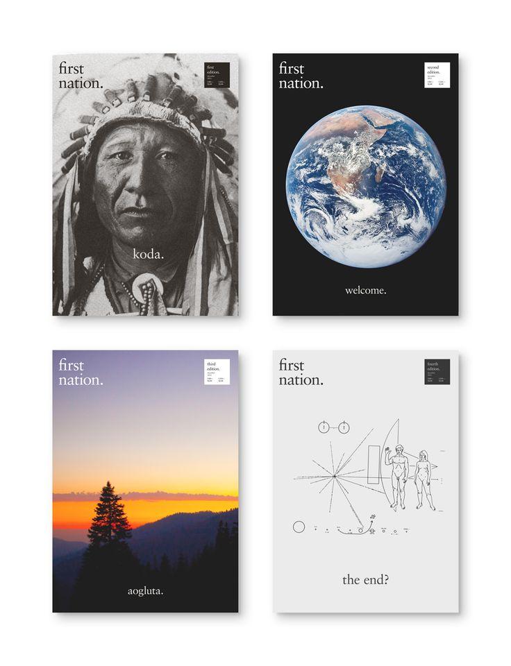 First Nation Magazine - Art & Design by D. Kim