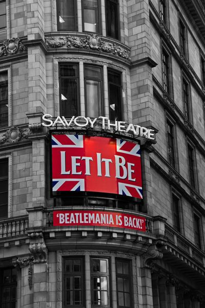 """Hammersmith Apartment's photo of the day: """"Let It Be"""" Savoy Theatre London #DreamHolidayContest"""