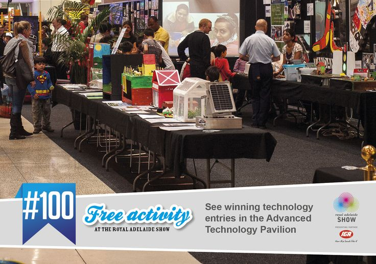 Check out the Advanced Technology Pavilion #AdelShow