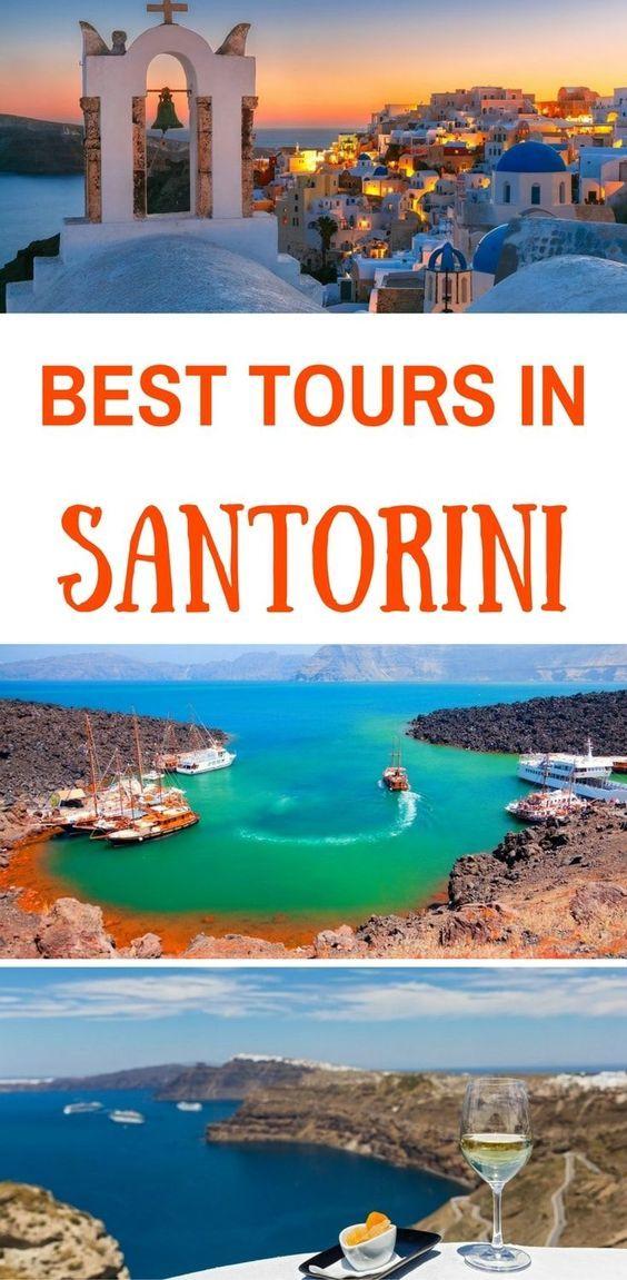 The best tours in Santorini island Greece, Santorini sailing excursions, wine tasting in Sanrorini