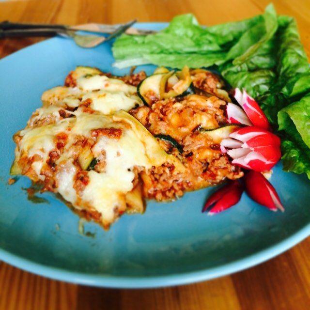 Todays lunch. Zucchinilasagne. Yummy.  #healthyfood #glutenfree #healtyeating #allergyfriendly #glutenfritt #nyttigt