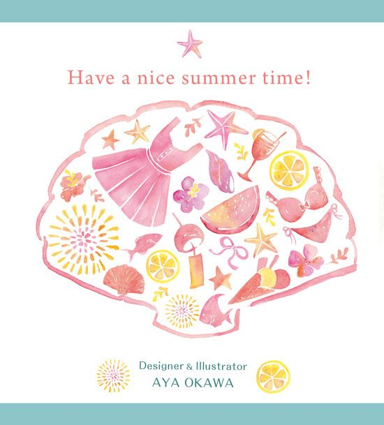 Summer card 2015