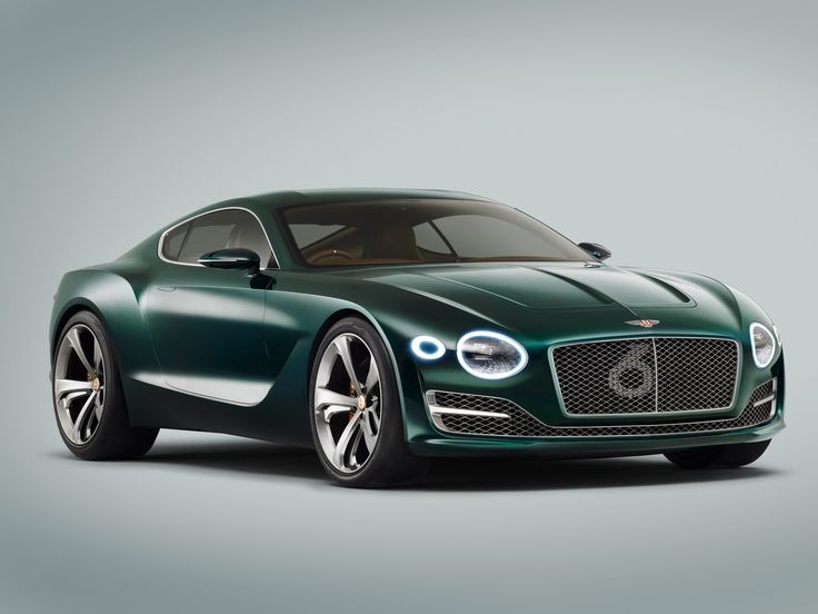 Bentley's New EXP-10 Speed 6 Sports Coupe Concept | ❤️ the green!