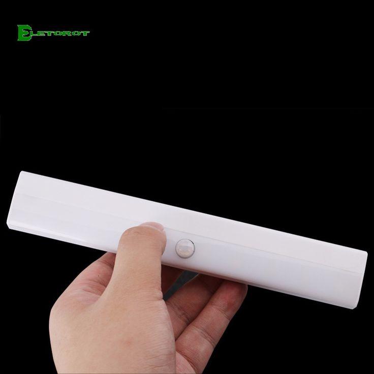 Eletorot 10 LEDS Store Night Light Motion PIR Sensor Light Automatic Light Sensing Clothing Night Light With Motion Sensor #Affiliate