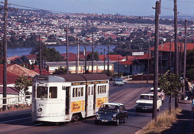 BRISBANE Four Motor Tram 474 in Gladstone Road, Highgate Hill, Brisbane, Queensland, Australia. by express000, via Flickr