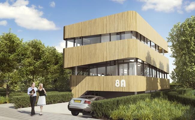 Villa 8A, wooden facade, www.villa8a.nl
