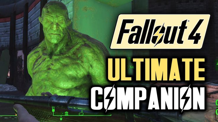Fallout 4 Tips: Meet STRONG! The Best Companion! A Fallout 4 Guide with ...