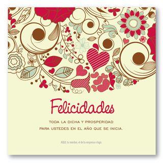 Flores y más ::  tarjetas para navidad y fin de año