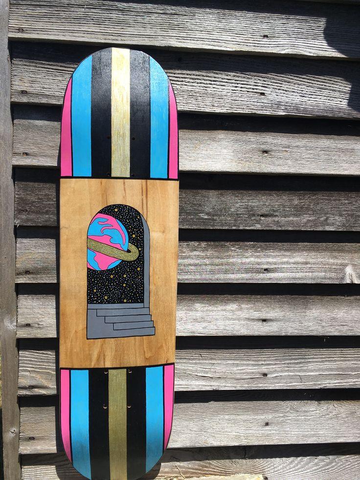 Universal doorway skate deck