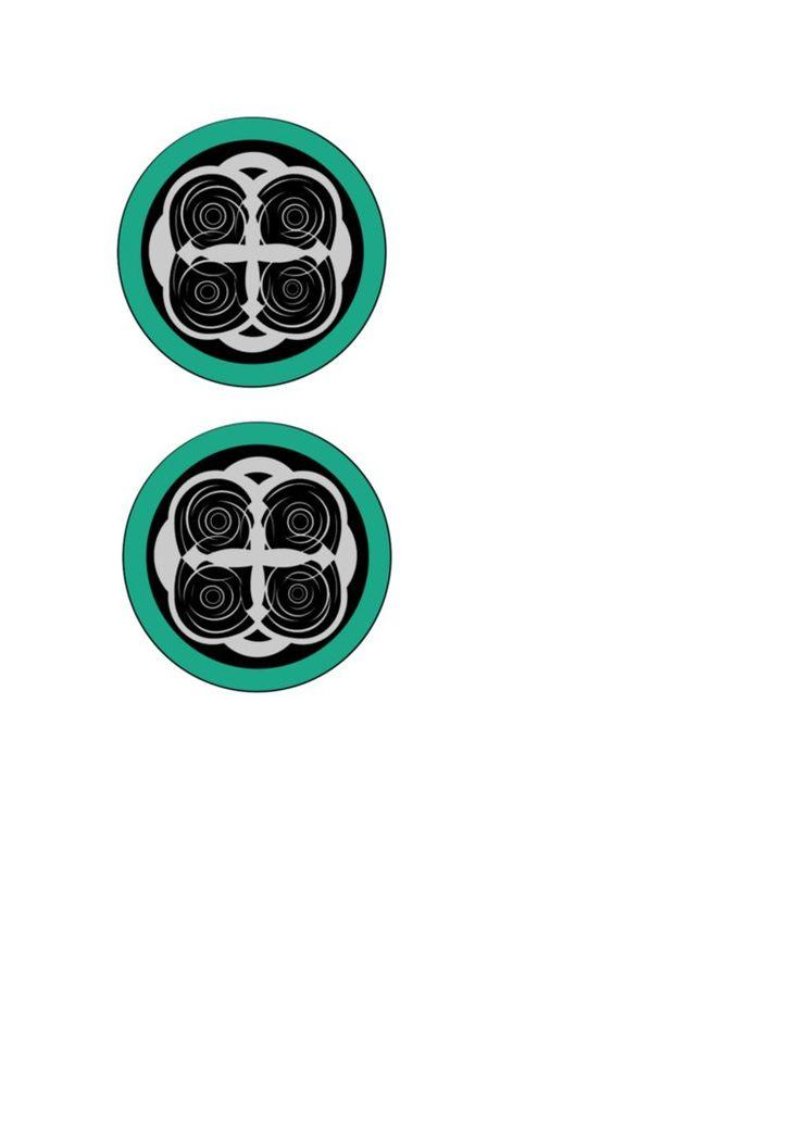 Circles Base for Papercraft Vocaloid -Magnet- Headphones ...