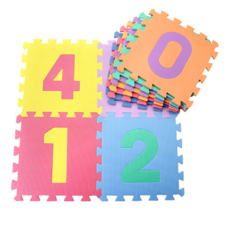 30*30cm 10pcs/set Puzzle Carpet Children's Play Mat Floor Puzzle Mat EVA Baby Foam Floor Carpet Developing Crawling Rugs