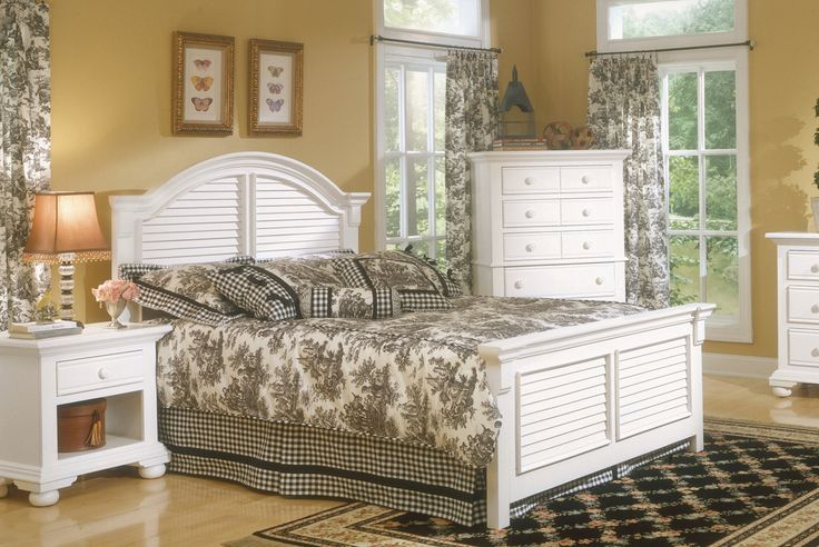 Shop American Woodcrafters  6510 Cottage Traditions Panel Bed at ATG Stores. Browse our bedroom sets, all with free shipping and best price guaranteed.