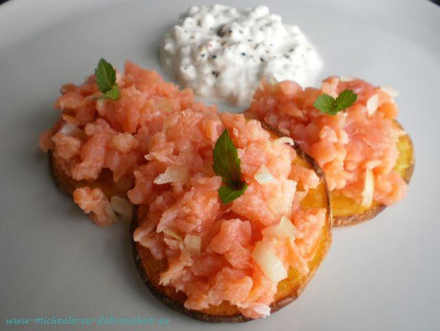 Dobrou chuť: Tatarák z lososa