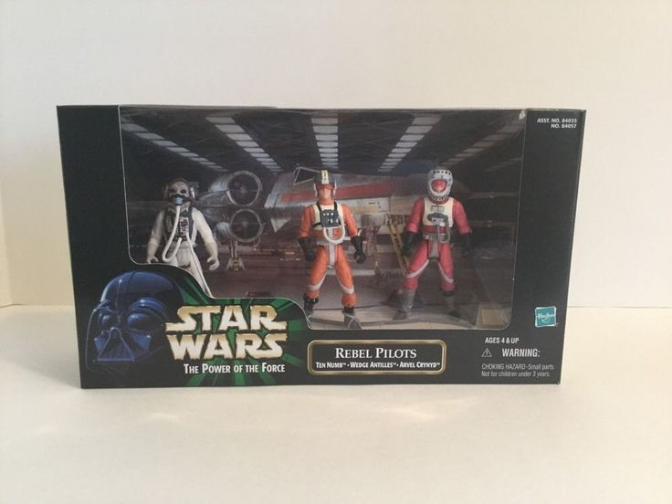 Star Wars Rebel Pilots The Power of the Force Scene #Hasbro