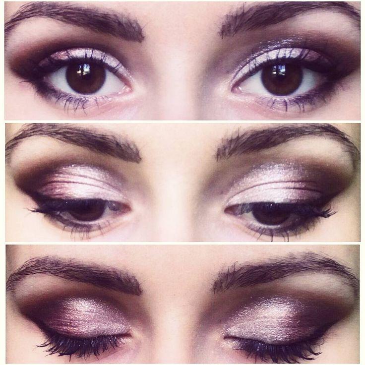 "97 aprecieri, 1 comentarii - ∆ Casandra ∆ (@casandrasy) pe Instagram: ""#brown #eyes #makeup #style #beauty #smokey #elegant"""