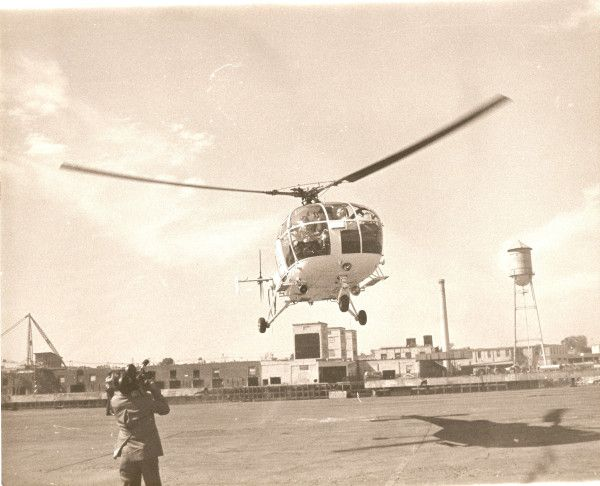 The first helicopter utilized on a Life Flight mission was the French-built SA319B, also known as the Alouette.