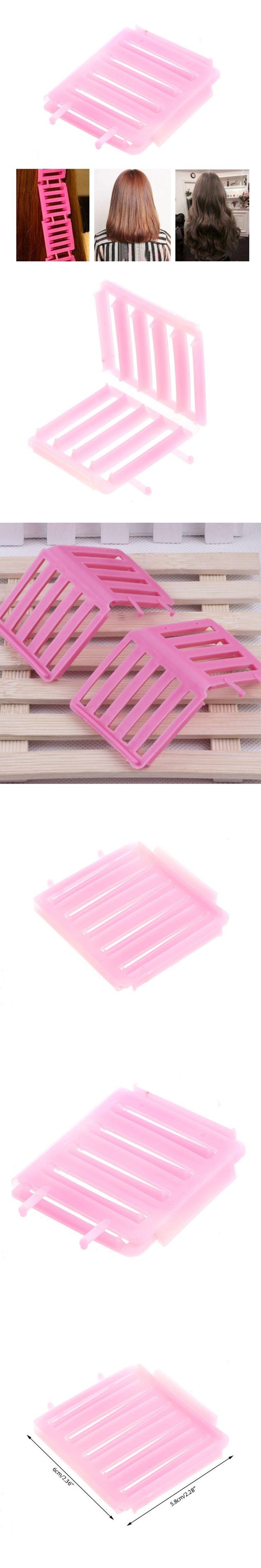 New Fashion Plastic Hair Styling Roller Curler Maker Curler Bendy Twist Curls Tool DIY Girls Women Pink Flexible Hair Curler