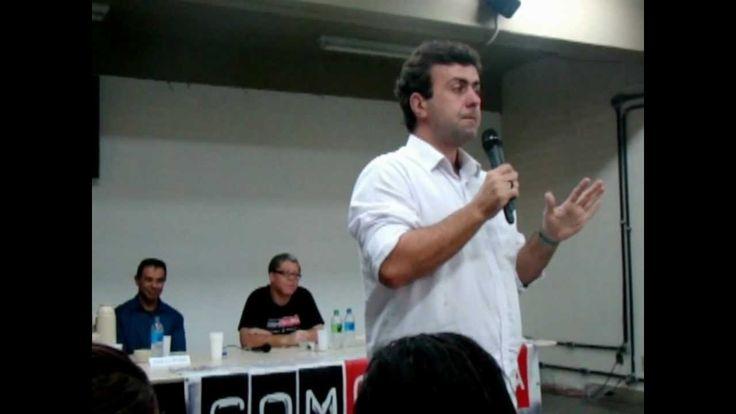 Palestra com Marcelo Freixo na UERJ de Duque de Caxias #ComCausa