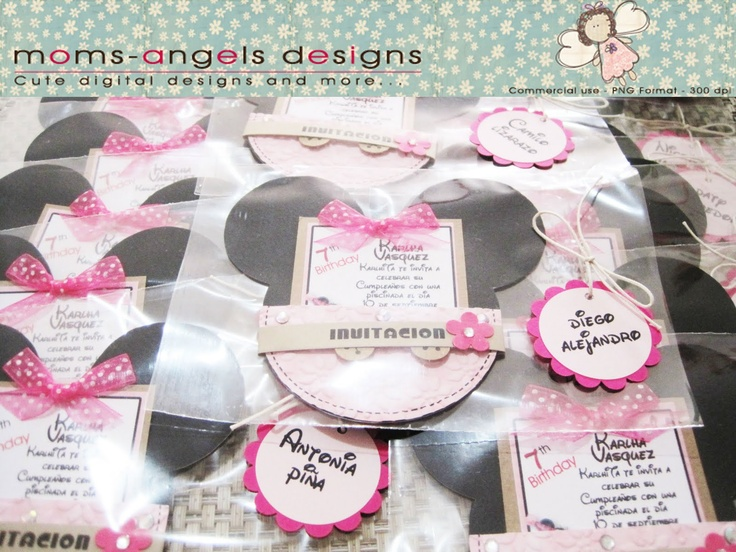 17 Best images about invitaciones on Pinterest Mickey mouse birthday invitations, Minnie mouse