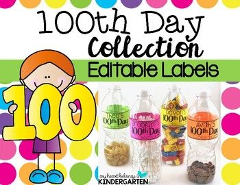 Will your students be collecting 100 items for the 100th day of school? If so, this product is just what you need! Homework has never been more fun (and easy). This download includes an editable letter for you to send home informing families about the 100th day homework activity.
