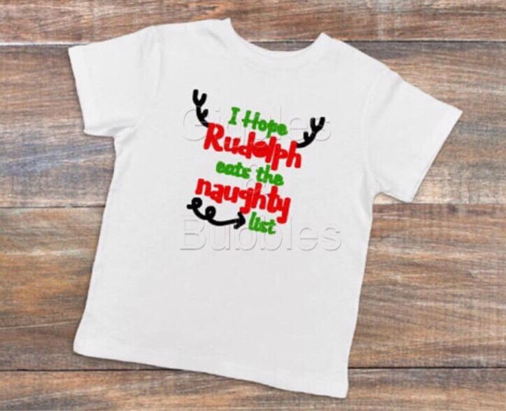 I hope rudolph eats the naughty list t-shirt onsie christmas top personalised custom made xmas t-shirt onsie bodysuit present christmas gift by GigglesBubbles on Etsy https://www.etsy.com/au/listing/552722967/i-hope-rudolph-eats-the-naughty-list-t