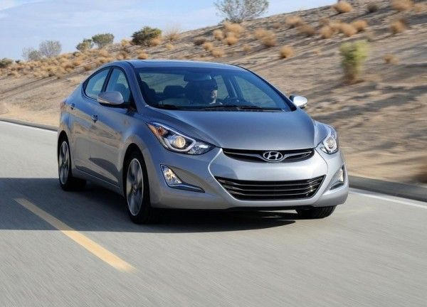 2014 Hyundai Elantra Sedan Silver Colors 600x432 2014 Hyundai Elantra Sedan Reviews and Design