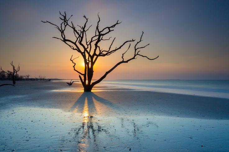 Sunrise at Botany Bay, Edisto Island by Luke Robinson on 500px