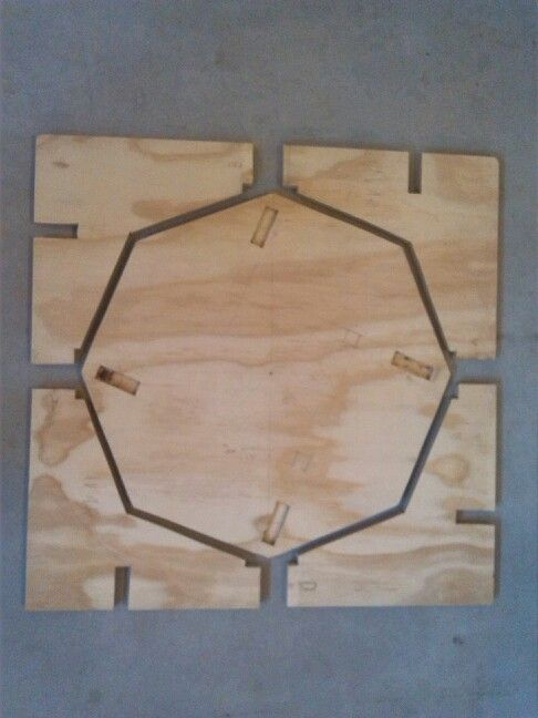 60*60 cm multiplex table