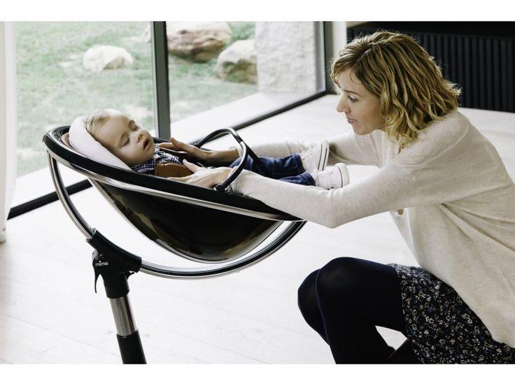 MIMA Židlička Moon 2G chrom/černá | Kašpárek Baby