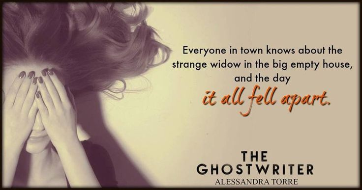 Silence Is Read: #teaser from The Ghostwriter By Alessandra Torre