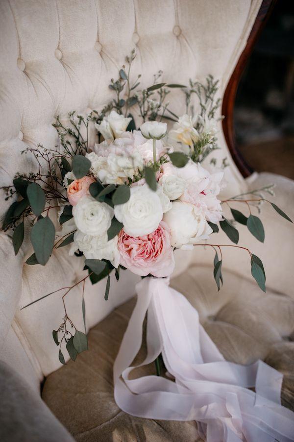 Cream and blush bouquet        #wedding #weddings #weddingideas #aislesociety #realwedding #springwedding