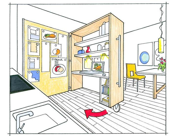 einrichtungstipps f r kleine k chen. Black Bedroom Furniture Sets. Home Design Ideas